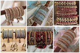 14 Alluring Bridal Bangle Style That would Steal all the Attention and  compliment your overall look!